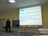 BEF Lietuva direktorius Ž. Morkvėnas pristato visuomenės informavimo veiklas