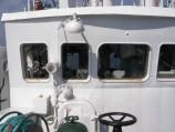 Ekspedicijos laive telpa 10 žmonių